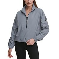 Calvin Klein Performance Reflective Half-Zip Pullover Jacket