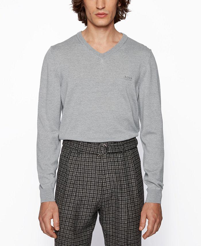 Hugo Boss - Men's Baram Regular-Fit Sweater