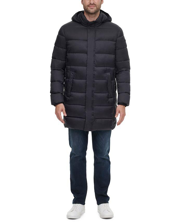 Calvin Klein - Men's Long Hooded Puffer Jacket