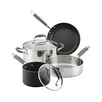 6-Pieces Anolon Advanced Mixed Metals Cookware Set