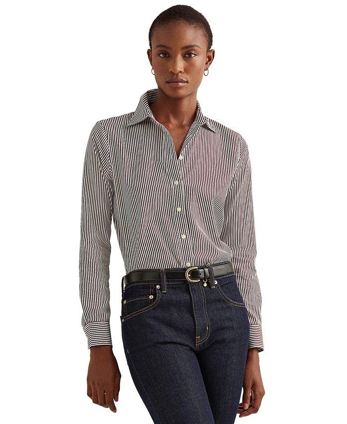 Lauren Ralph Lauren - Floral Striped Jacquard Shirt