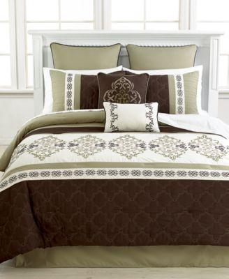 Regalia 8 Piece Queen Comforter Set