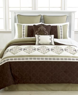 Regalia 8 Piece King Comforter Set