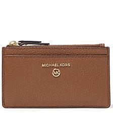 Michael Michael Kors Jet Set Charm Slim Leather Card Case