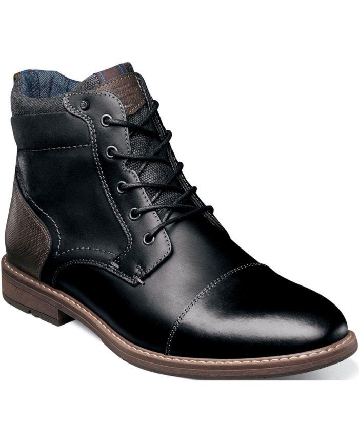Nunn Bush Men's Fuse Cap-Toe Chukka Boots & Reviews - All Men's Shoes - Men - Macy's