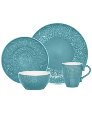 Pfaltzgraff Dolce Blue 4-Piece Place Setting