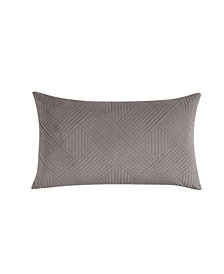 Charter Club Damask Design Velvet Decorative Pillow, Created for Macy's