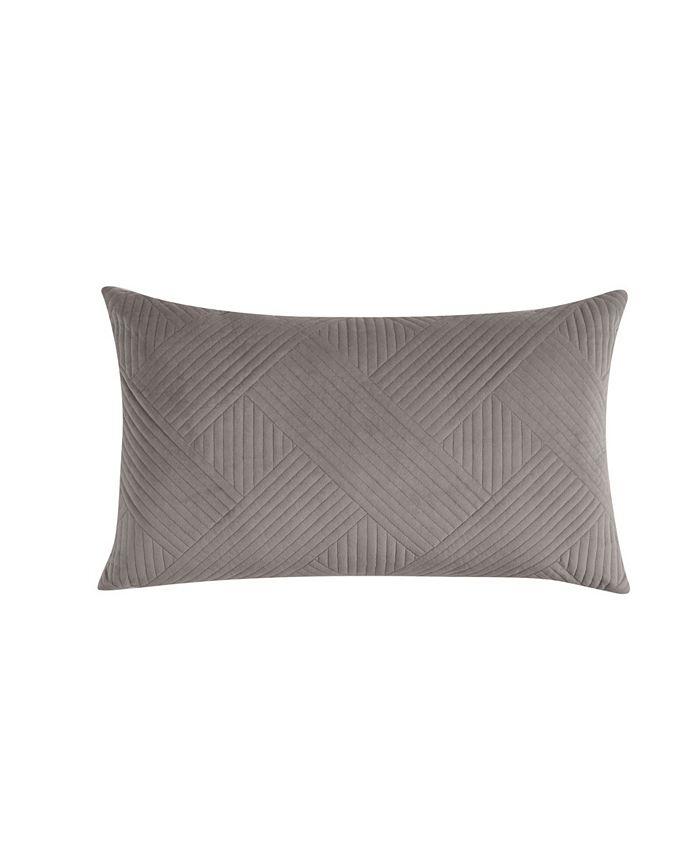 Charter Club - Damask Velvet Decorative Pillow