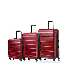 Madison 3-Pc. Hardside Luggage Set