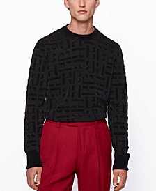BOSS Men's Dirocco_Crewneck Sweater