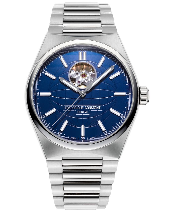 Frederique Constant - Men's Swiss Automatic Highlife Heart Beat Stainless Steel Bracelet Watch 41mm