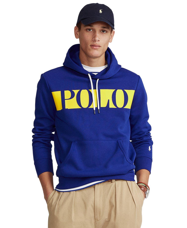 Polo Ralph Lauren Men's Double-Knit Graphic Hoodie & Reviews - Hoodies & Sweatshirts - Men - Macy's