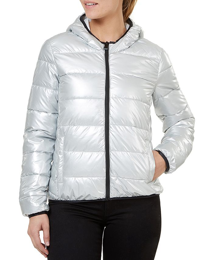 Numero - Quilted Hooded Packable Jacket