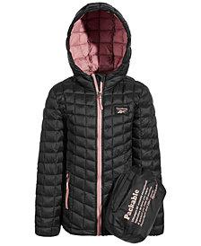 Reebok Little Girls Glacier Shield Packable Jacket