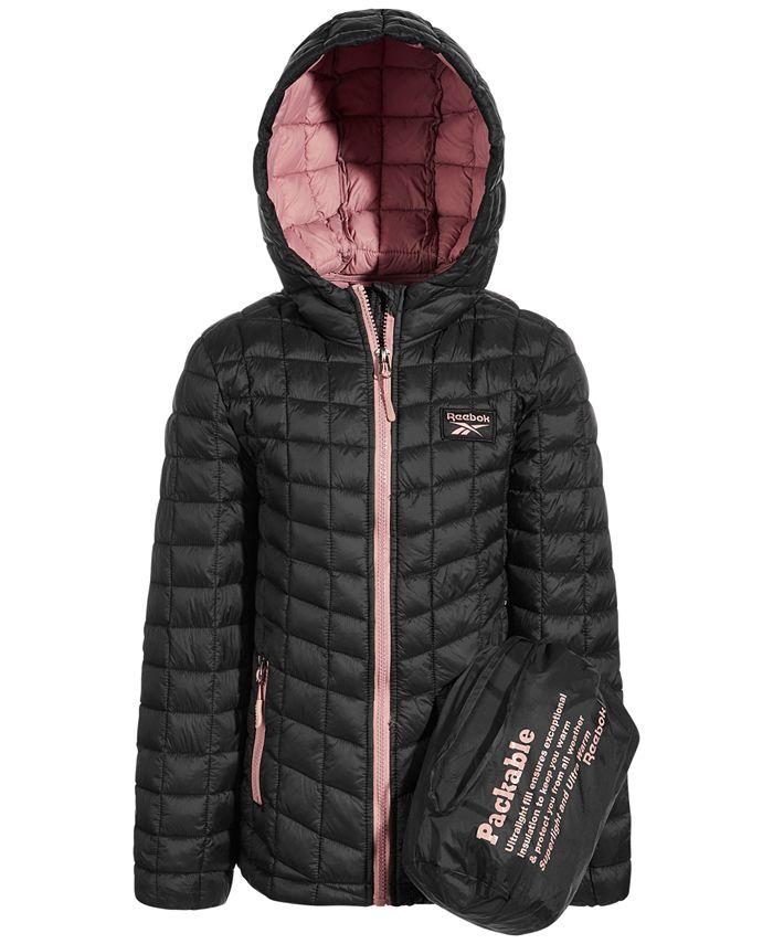 Reebok - Little Girls Glacier Shield Packable Jacket