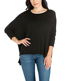 Women's Oversized Long Sleeve Dolman Top
