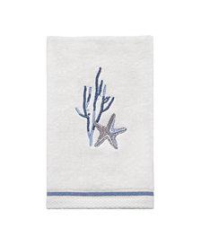 Avanti Abstract Coastal Fingertip Towel
