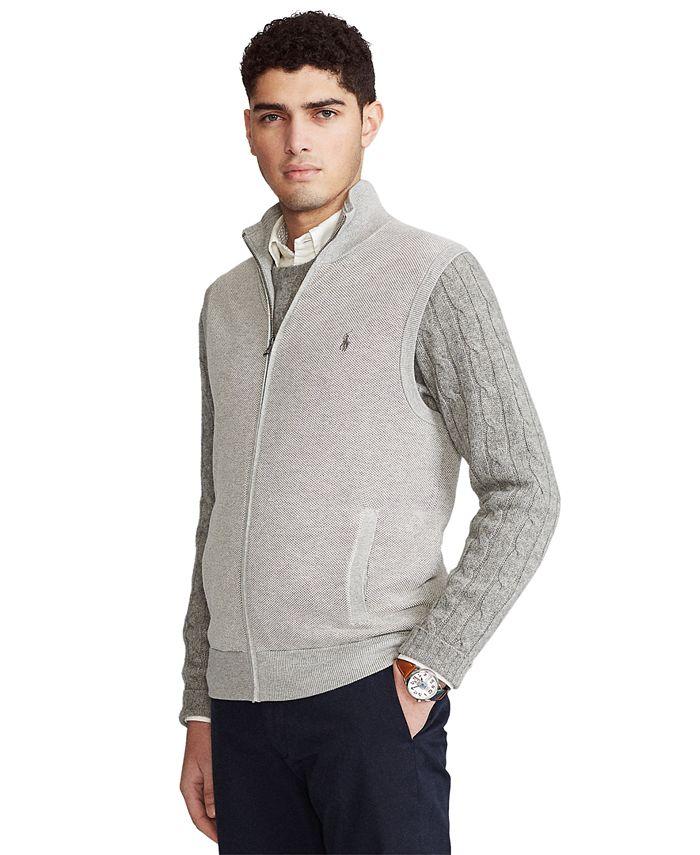 Polo Ralph Lauren - Men's Big & Tall Cotton Sweater Vest