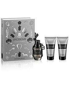 Viktor & Rolf Men's 3-Pc. Spicebomb Eau de Toilette Gift Set