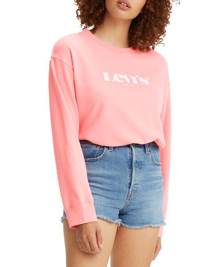 Levi's - Logo Crewneck Sweatshirt