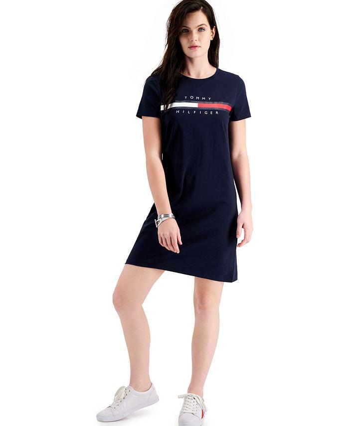 Tommy Hilfiger - Logo Graphic T-Shirt Dress
