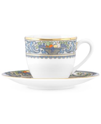 Lenox Autumn Espresso Cup and Saucer Set