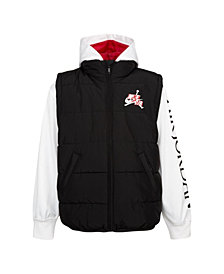 Jordan Little Boys Classics 2Fer Puffer Sweatshirt