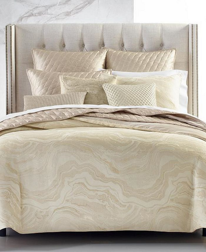 Hotel Collection - Moonstone King Comforter, Created For Macy'S