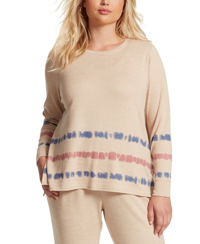 Jessica Simpson - Trendy Plus Size Lisa Printed Top
