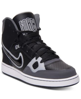 Nike Boys' Son of Force Mid Casual Sneakers from Finish Line