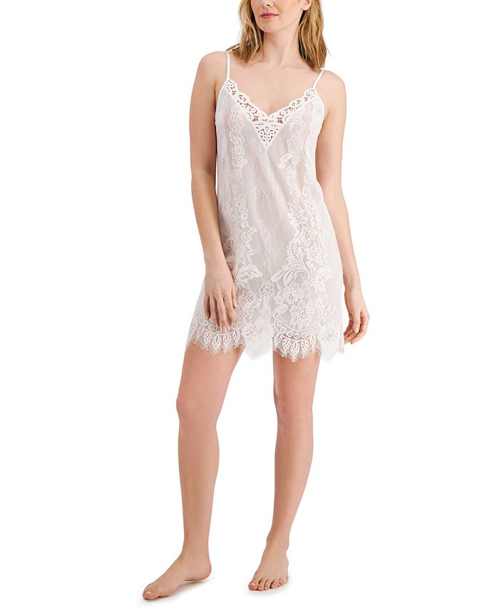 INC International Concepts - Lace Chemise Nightgown
