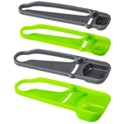 4-Piece Martha Stewart Collection Self-Leveling Measuring Spoons