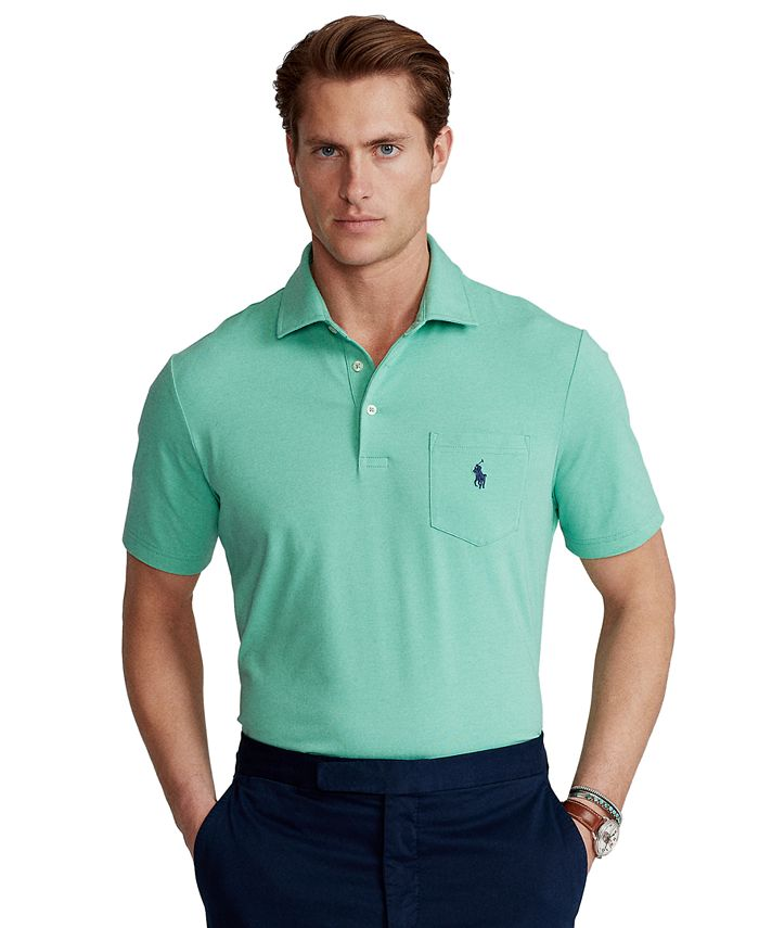 Polo Ralph Lauren Men's Classic-Fit Performance Polo Shirt ...