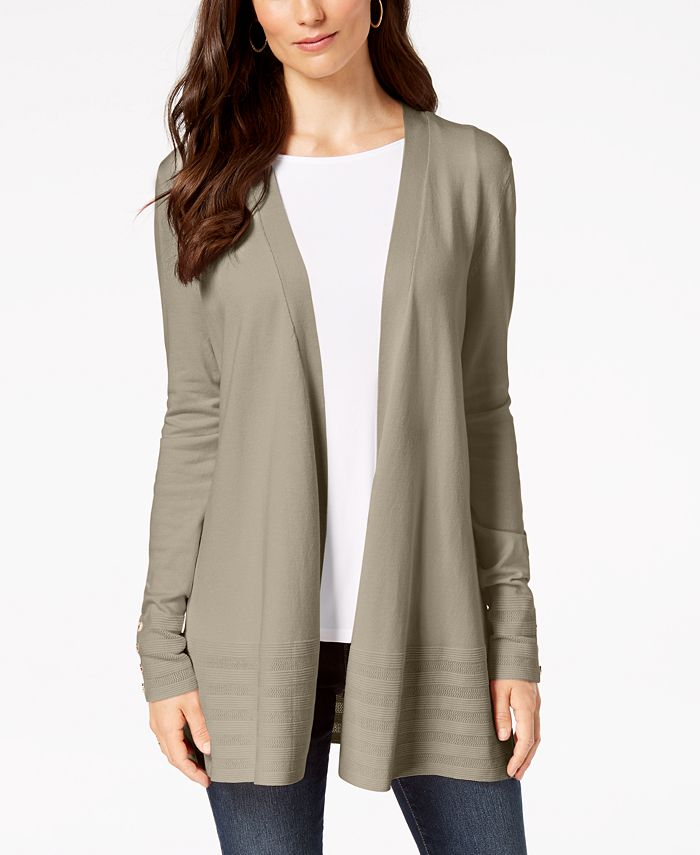 Charter Club - Open-Front Cardigan