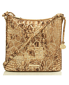 Brahmin Katie Muse Melbourne Embossed Leather Crossbody