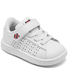 K-Swiss Toddler Boys Court Casper Stay-Put Casual Sneakers from Finish Line