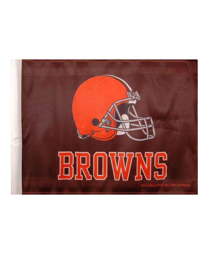 Rico Industries - Cleveland Browns Car Flag