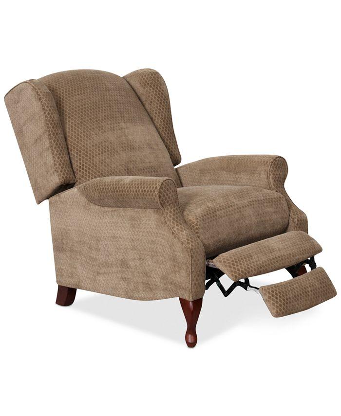 """Furniture - Edie Fabric Recliner Chair 29.5""""W x 37.5""""D x 40.5""""H"""