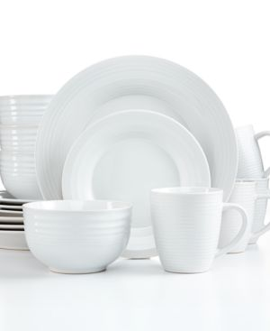 Pfaltzgraff Everyday Dinnerware, Sierra White 16-Piece Set