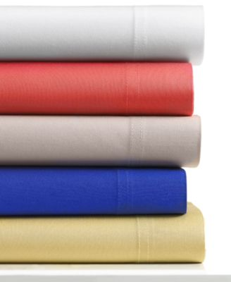Bar III Solid King Sheet Sets