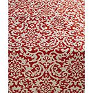 Waverly Duncan Coral Indoor/Outdoor Table Linens Collection
