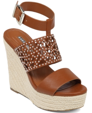 BCBGeneration Suzie Platform Wedge Sandals Women's Shoes