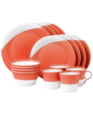 Royal Doulton 1815 Red 16-Piece Dinnerware Set