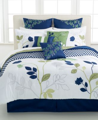 CLOSEOUT! Vancouver 10 Piece Comforter Sets - Bed in a Bag ...