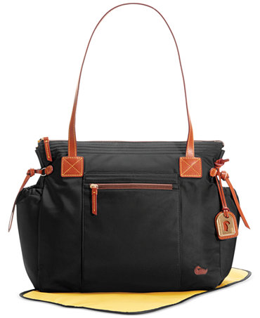 dooney bourke nylon diaper bag handbags accessories macy 39 s. Black Bedroom Furniture Sets. Home Design Ideas