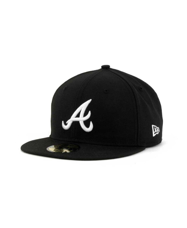 New Era Atlanta Braves MLB B-Dub 59FIFTY Cap & Reviews - Sports Fan Shop By Lids - Men - Macy's