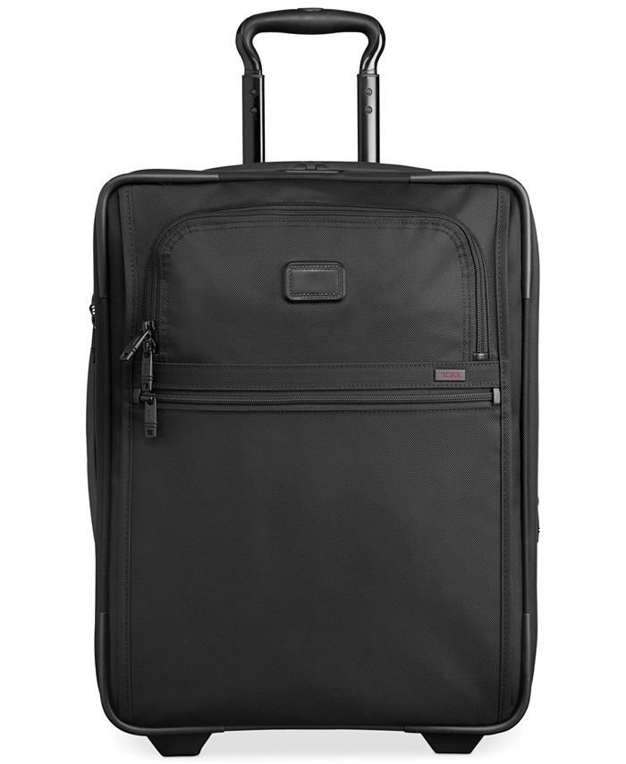 "Tumi - Alpha 2 22"" Domestic Rolling Carry-On Expandable Suitcase"