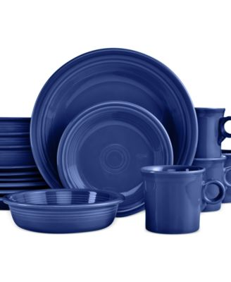 16-Piece Cobalt Set, Service for 4