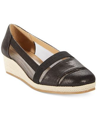 Karen Scott Caroline Espadrille Wedge Flats  Sandals  Shoes  Macy39;s