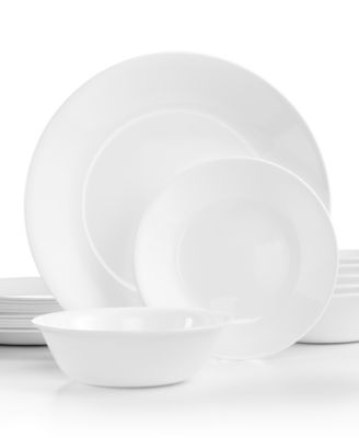 Corelle Livingware 18-Piece Dinnerware Set, Service for 4